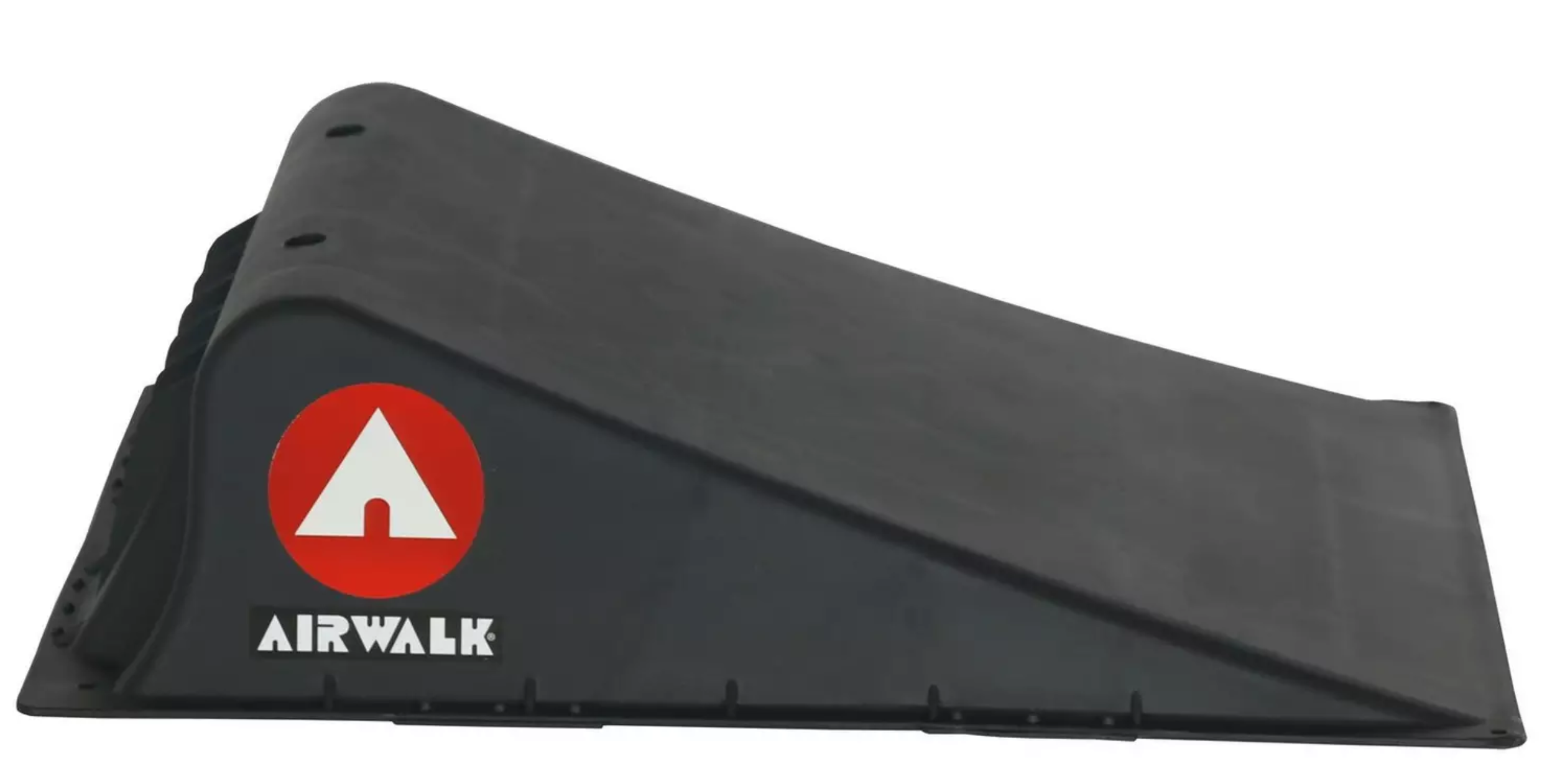 small airwalk ramp for use by kids on scooters and skateboards