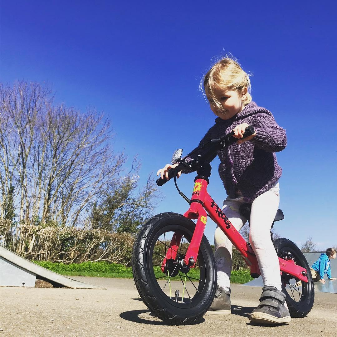 @keithwilson 80 toddler on a balance bike