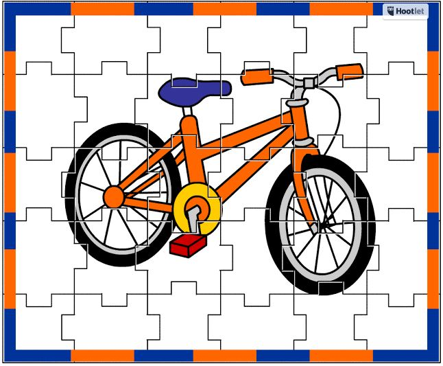 bicycle jigsaw puzzle