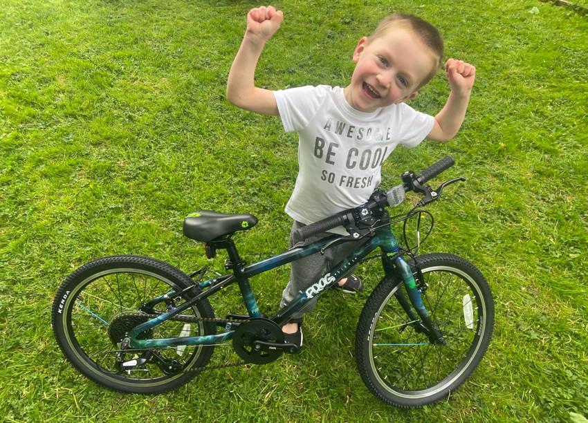 Frog Bikes Custom 7th Birthday Bike Competition