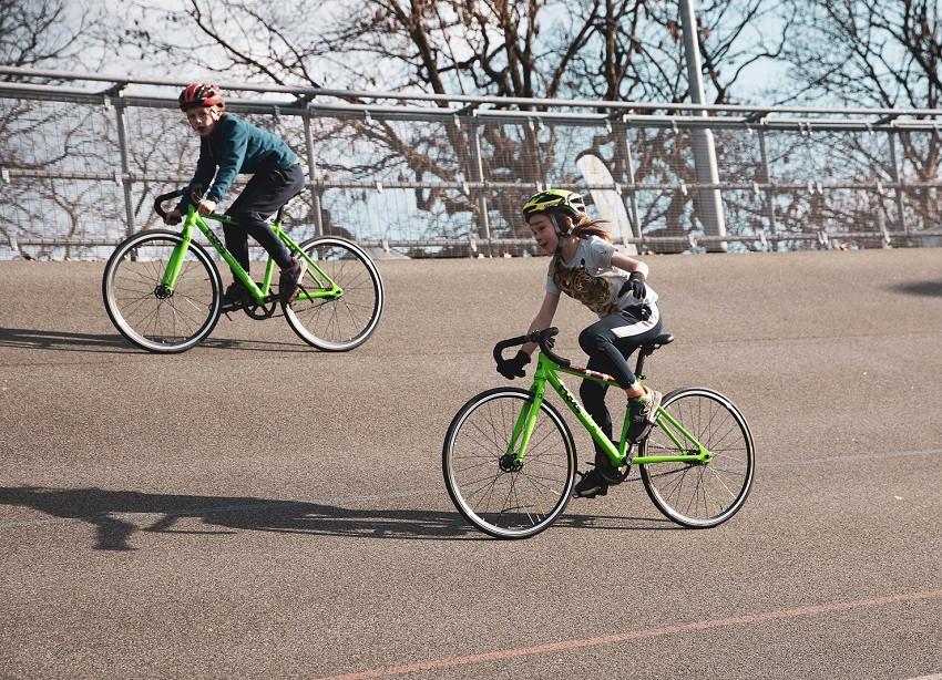 Kids road, track & MTB racing, Olympics style